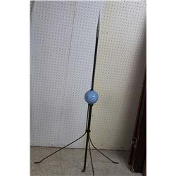 Original Lightening Rod w/Original Blue Ceramic Ball