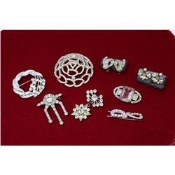 Vintage Rhinestone Jewellery (1940s-50s)