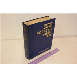 1976 Motor Auto Repair Manual- Service Trade Edition