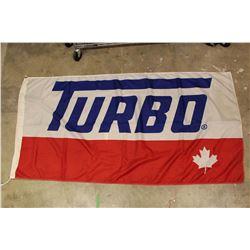 3ft x 4ft Vintage Turbo Gas Station Flag