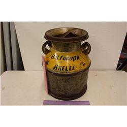 Vintage Cream Can