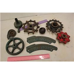 Antique Cast Iron Implements, Etc