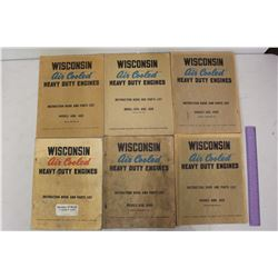 Vintage Wisconson Air Cooled Engine Manuals (6)