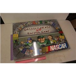 NIB Nascas Griddly Headz Racing Game