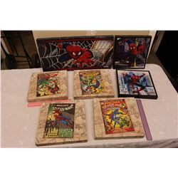 Spiderman Marvel Comics Canvas Wall Art (7 Canvas')