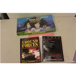 Gurps Traveller Books (2)& The Hardy Boys Mystery Boardgame