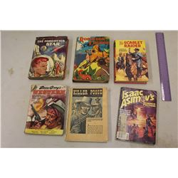 Vintage Books (6)(The Scarlet Raider, The Forgotten Star, Etc)