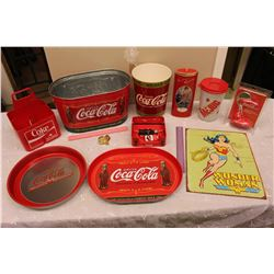 Lot of Coco-Cola Memorabilia