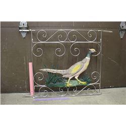 Vintage Metal Goose Gate