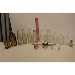 Lot of Vintage Bottles
