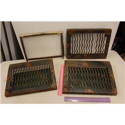 1913 Cast Iron Heat Grates (3)