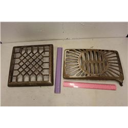 Antique Heat Grates (2)