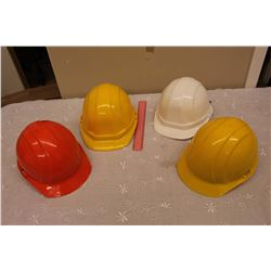 Safety Hard Hat Helmets (4)(New)