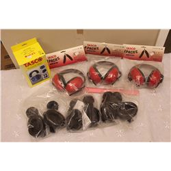Lot of Safety Earmuffs