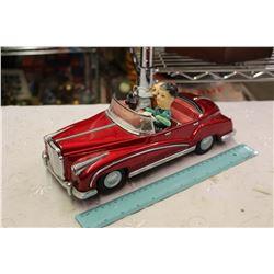 Metal And Tin Toy Car, Vintage, Needs Repair