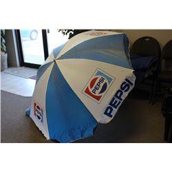 Vintage Pepsi Patio Umbrella