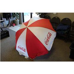 Vintage Coca-Cola Patio Umbrella