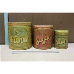 Vintage Cannister Set