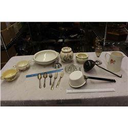 Lot Of Vintage Misc. Dishware