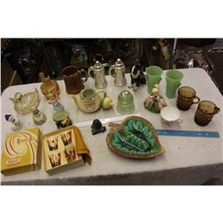 Lot Of Vintage Misc. Decorations And Related