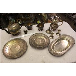 Lot Of Silver Plated Pieces