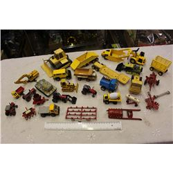 Large Lot Of Small toys (Tonka, Cat, Etc)