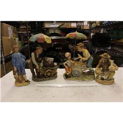 Collection Of Different Figurines (4)