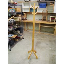 """Wooden Stand, 72"""" Tall"""