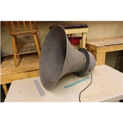 Large Vintage Speaker