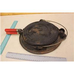 Cast Iron Flip Waffle Iron