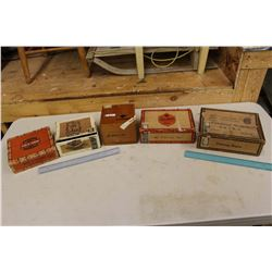 Lot of Cigar Boxes (5)