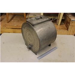 Metal Butter Churn