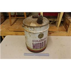 Bull Dog Motor Oil Pail (5 Gallon)