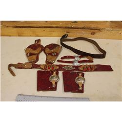 Children Gun Belt w/Accessories, Arm Bands, Etc