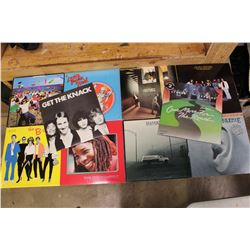 Lot of 1970s Rock n Roll LP Records (10)