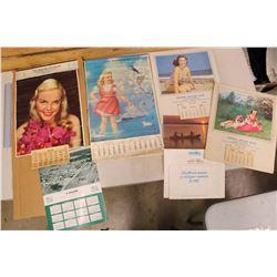 Vintage Calendars(6): 1951, 1956, 1959, 1977