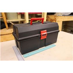 Plastic Carry Tool Box w/Tools Inside
