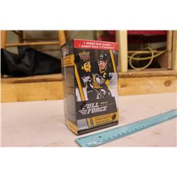 Sealed Box of 2015-16 Full Force Hockey Cards; 8 Packs