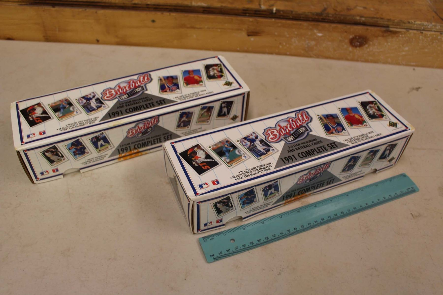 Lot Of 2 Sealed Factory Sets Of 1991 Upper Deck Baseball Cards