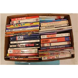 Huge Lot of Sports Related Books & Sports Digests