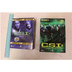 CSI Season 1 & Season 2 DVDs