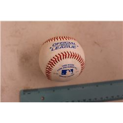 Rawlings Official League Yarn Wound Cork & Rubber Pill Baseball (Genuine Leather)