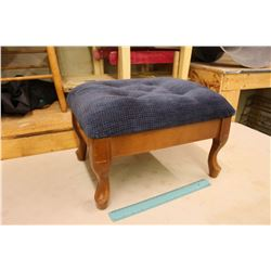 Vintage Padded Foot Stool