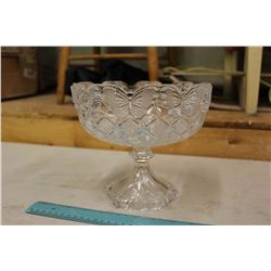 100% Crystal Fruit Bowl (Never Used)