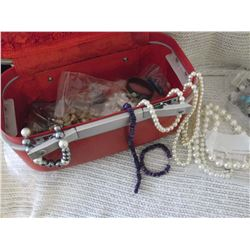 Suitcase w/Jewellery