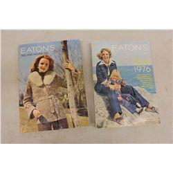 Pair Of Eatons Catalogs 70's Catalogs