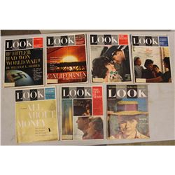 Lot Of 1960's Look Magazines (7)