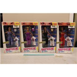 NIB Spice Girls on Stage Dolls (All 4 Spice Girls)