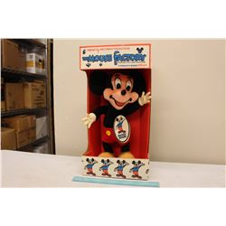 The House Factory Mickey Mouse Plush Toy From 1960's