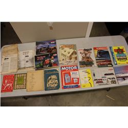 Lot Of Vintage Paper Related, Lots Of Train Related